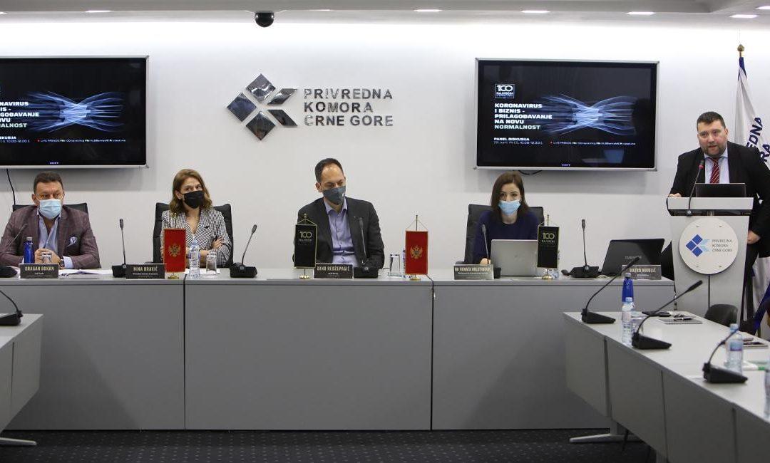 """Panel diskusija """"Koronavirus i biznis – prilagođavanje na novu normalnost"""": Sposobnost prilagođavanja je mera opstanka"""