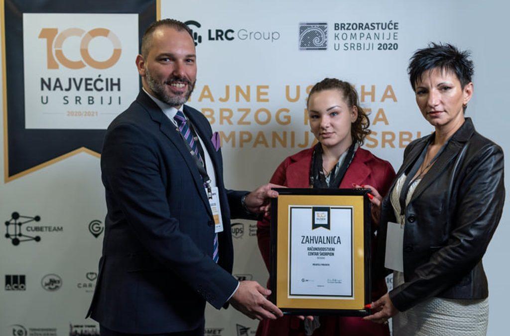 """Projekat """"100 najvećih u Srbiji"""" i B2B susreti daju drugu dimenziju poslovnog umrežavanja privrednika i strateški komuniciraju njihov uspeh"""