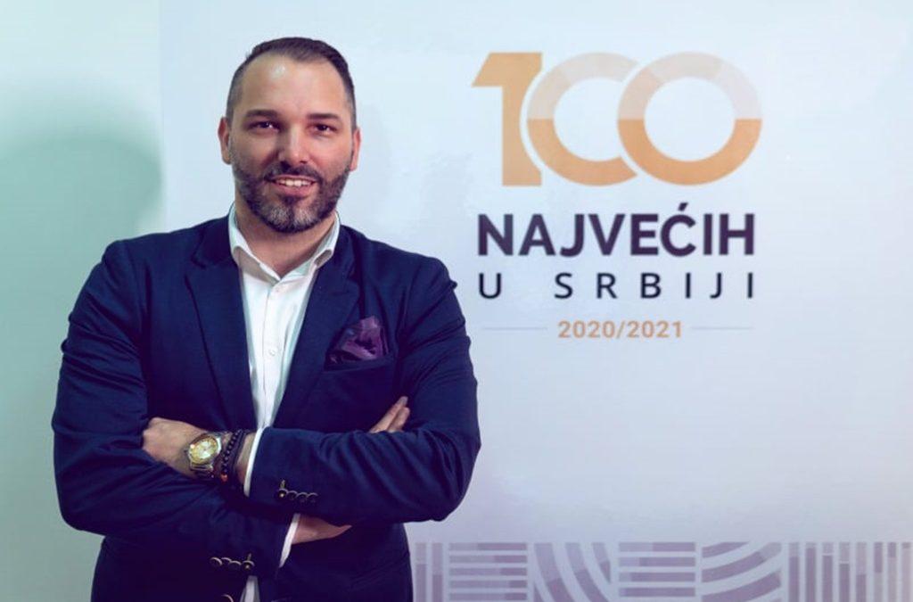 """Enis Hadžimujić, izvršni direktor projekta """"100 najvećih u Srbiji"""": Budućnost regiona je u ekonomskom razvoju"""